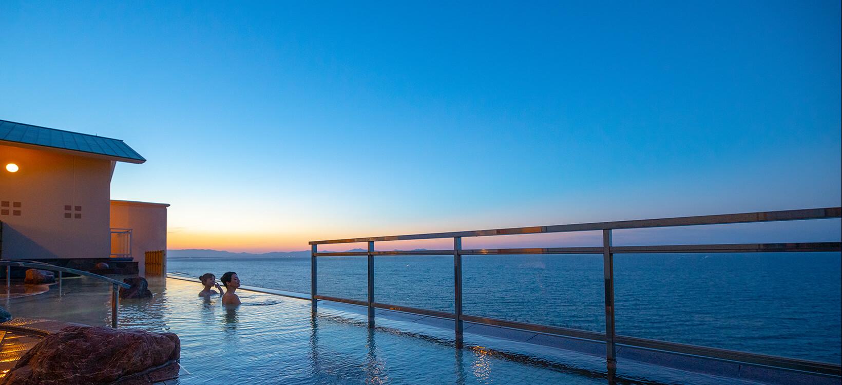 Open-air bath 満天の湯 インフィニティ天空露天風呂