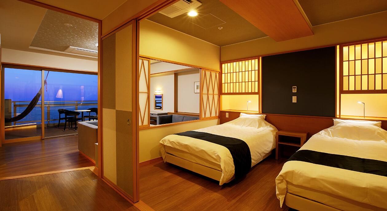 コーナースイートルーム Corner Suite Room